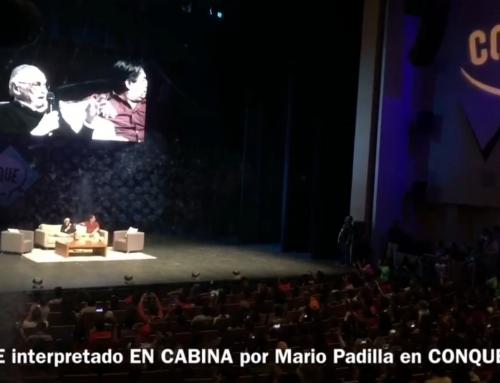 Stan Lee:  Traducción Simultánea de su conferencia en México.